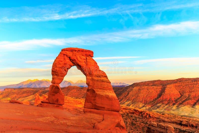 Arco delicado fotos de stock royalty free