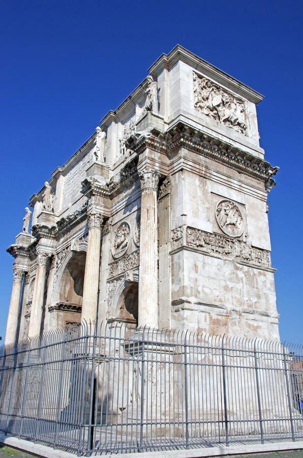 Arco dell'imperatore Constantin fotografia stock libera da diritti