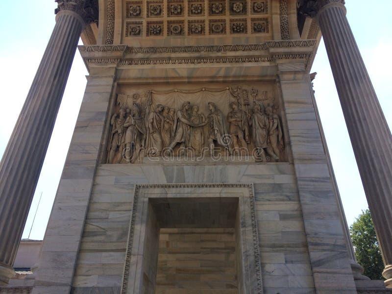 Arco della步幅 免版税库存照片