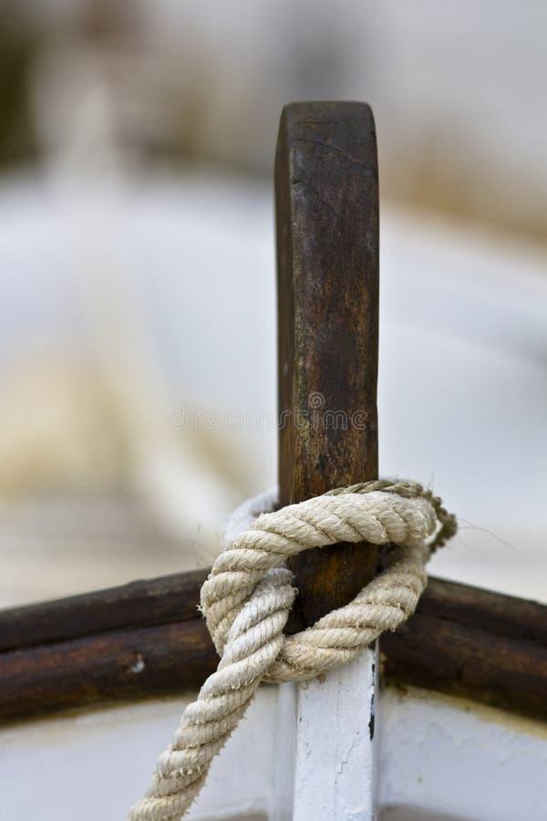 Arco della barca fotografie stock libere da diritti