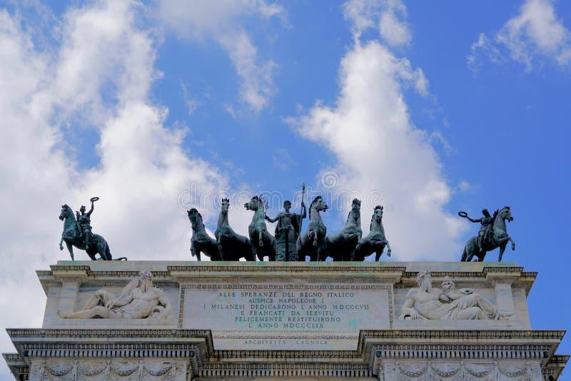 Arco Della Tempo stock foto's