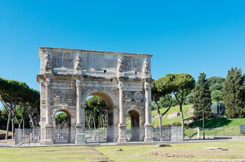 Arco di Costantino (l'arc de Constantin) Roma photographie stock