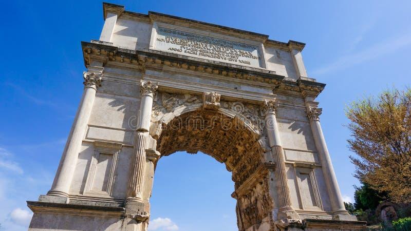 Arco Di CostantinoII στοκ φωτογραφίες