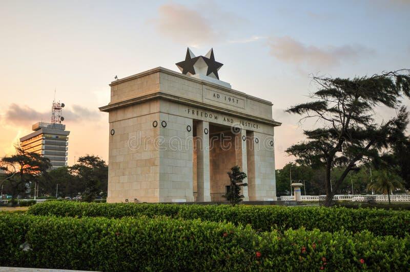 Arco di indipendenza immagine stock