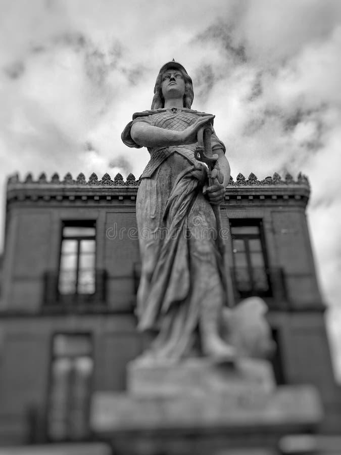 Arco di Jeanne d fotografia stock libera da diritti