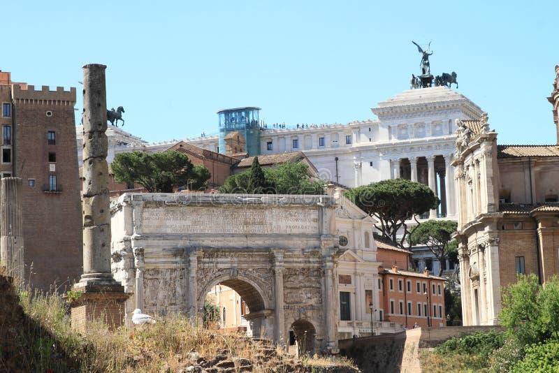 Arco di Settimio Severo 库存图片