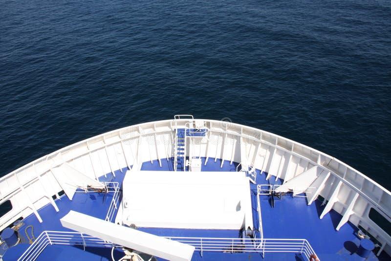 Arco di un traghetto fotografie stock libere da diritti