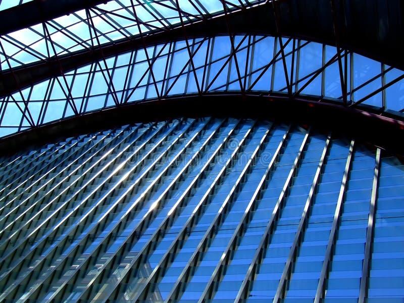 Arco di vetro fotografia stock