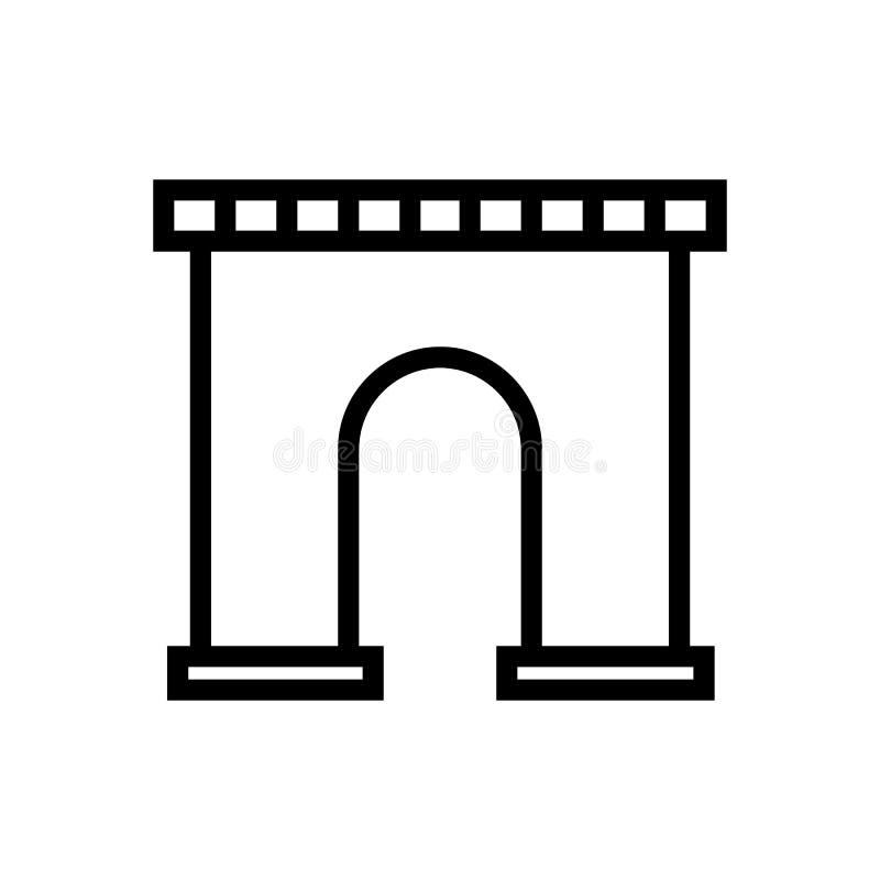 Arco do ícone de Triumph ilustração royalty free