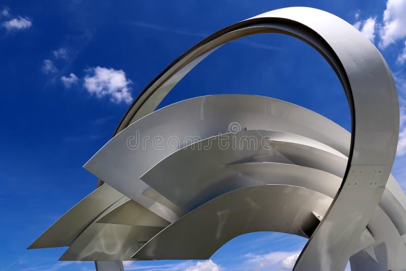 Arco do céu - Heilbronn Alemanha fotografia de stock