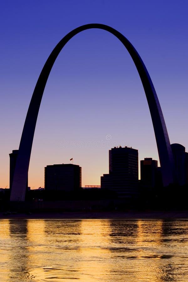 Arco do Gateway imagens de stock