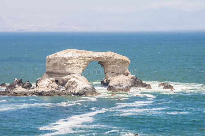 Arco do La Portada, Antofagasta, o Chile fotografia de stock