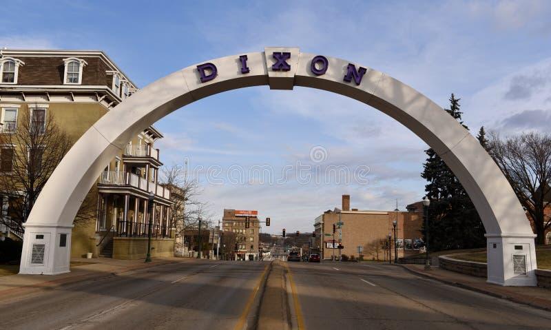 Arco do memorial do ` s do veterano imagem de stock royalty free