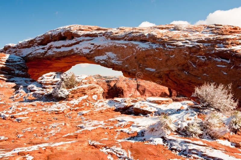 Arco Do Mesa Foto de Stock Royalty Free
