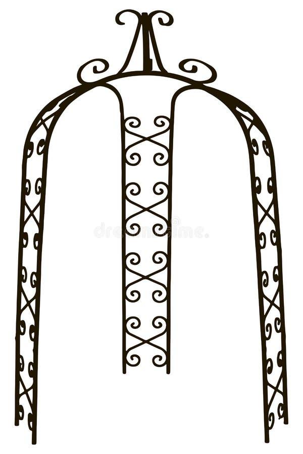 Arco do miradouro ilustração stock