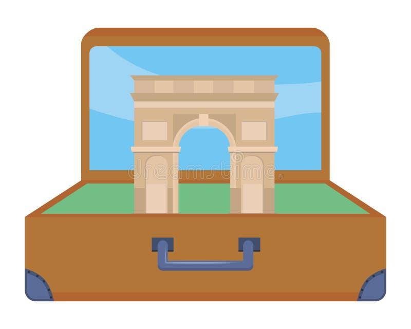 Arco do projeto de Triumph ilustração stock