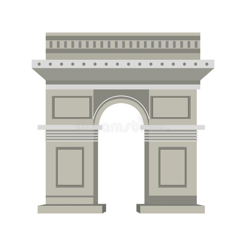 Arco do triunfo ilustração do vetor