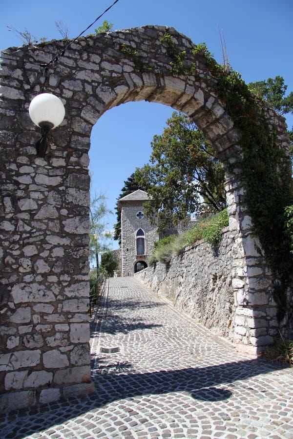 Arco E Porta Imagens de Stock
