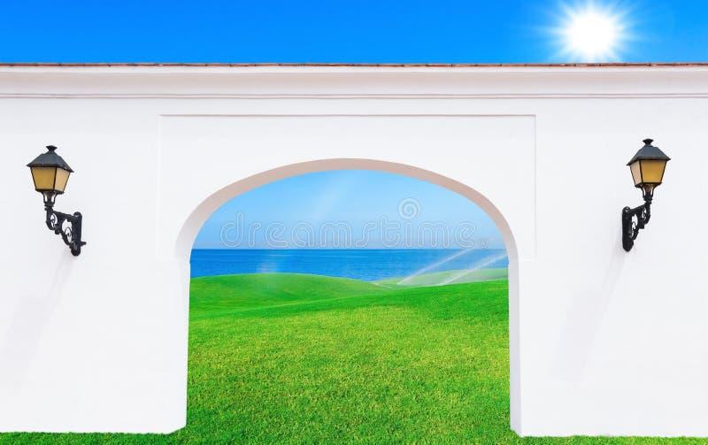 Arco en la fortaleza fotos de archivo libres de regalías