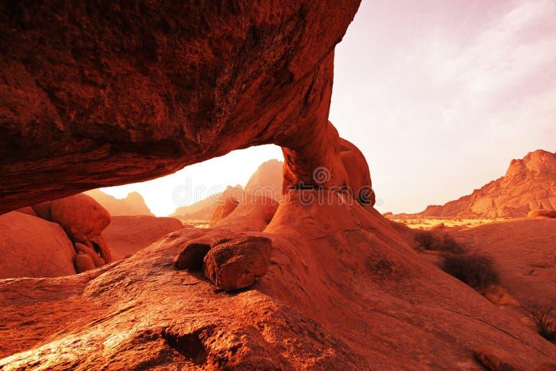 Arco en Namibia imágenes de archivo libres de regalías