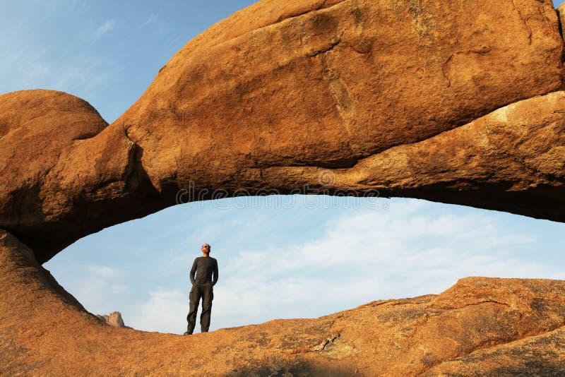 Arco en Namibia imagen de archivo