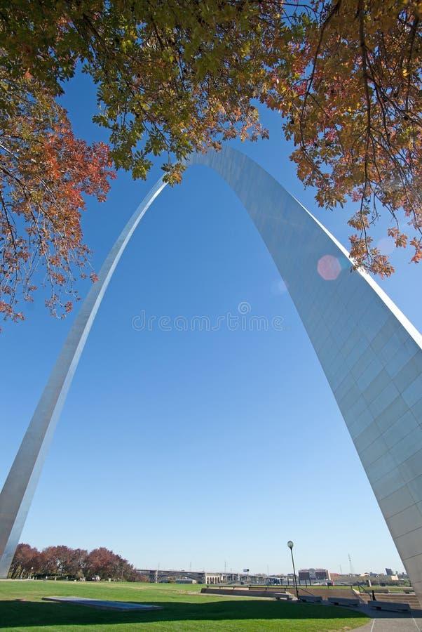 Arco en St. Louis Missouri fotografía de archivo