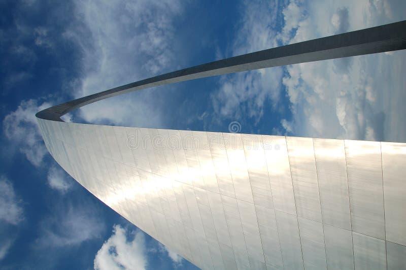 Arco en St. Louis, Missouri imágenes de archivo libres de regalías