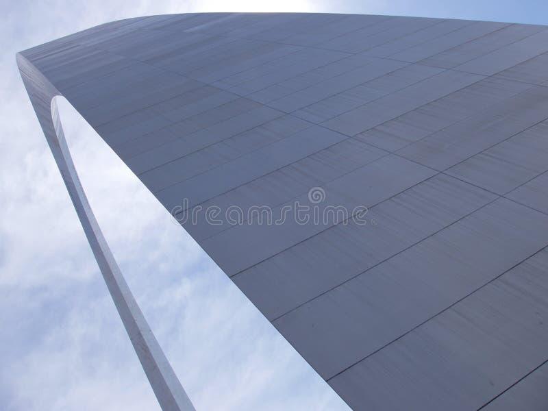 Arco futurista de St. Louis foto de archivo