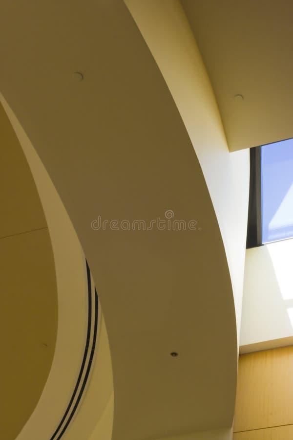Arco giallo immagine stock