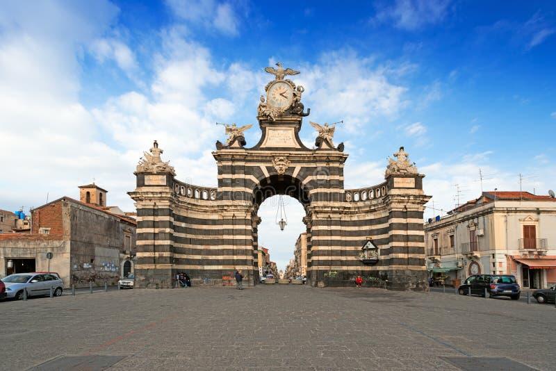 Arco Giuseppe Garibaldi fotos de stock