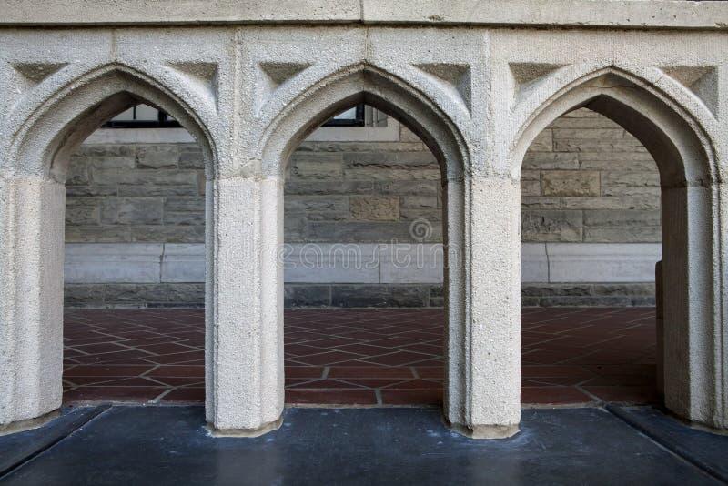 Arco gotico immagini stock