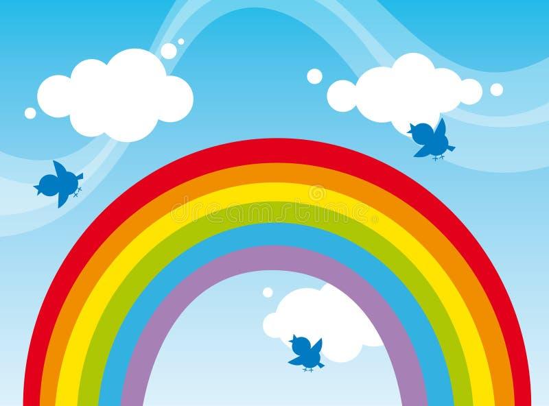 arco iris libre illustration