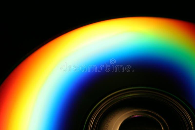 Arco iris CD imagen de archivo