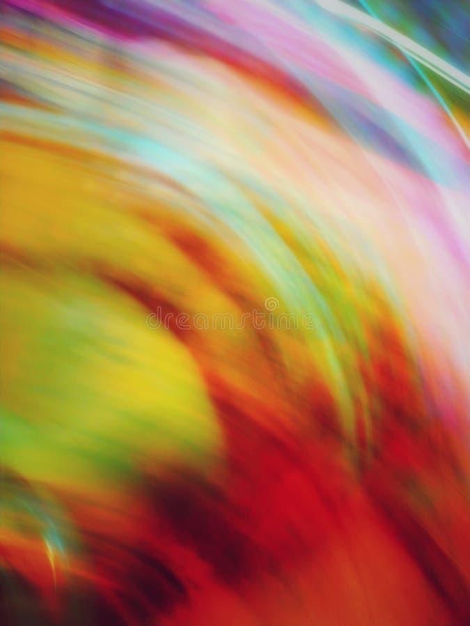 Arco iris de colores imágenes de archivo libres de regalías