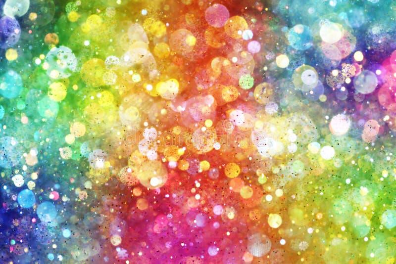 Arco iris de luces libre illustration