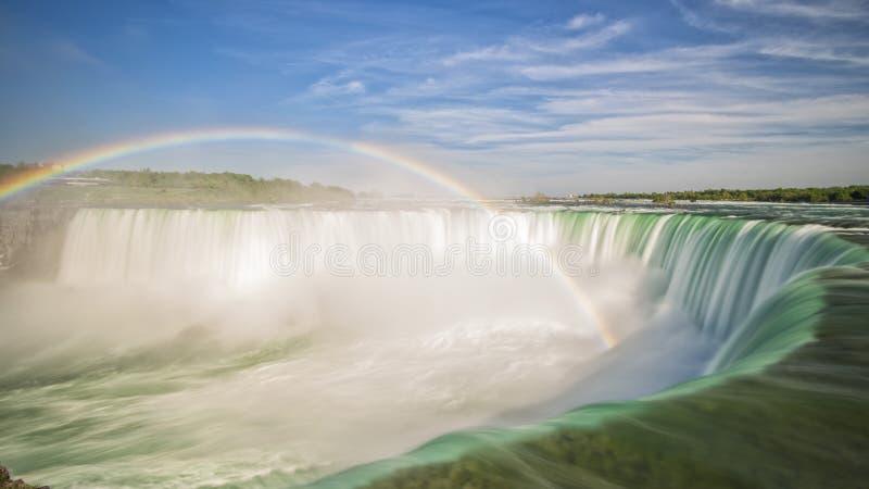 Arco iris de Niágara imágenes de archivo libres de regalías