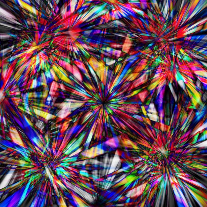 Arco iris del caos libre illustration