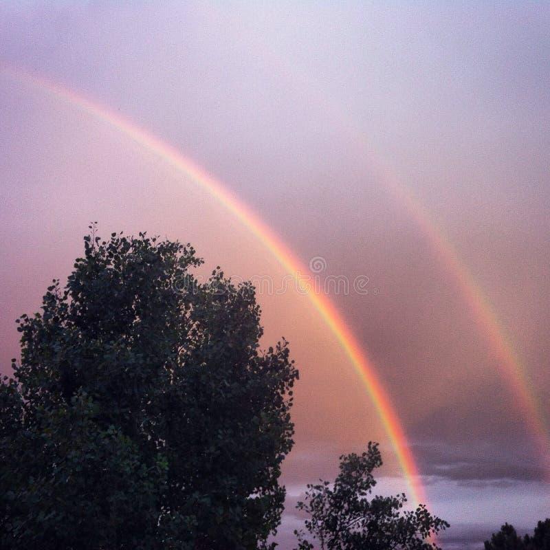 Arco iris del cuarto fotografía de archivo libre de regalías
