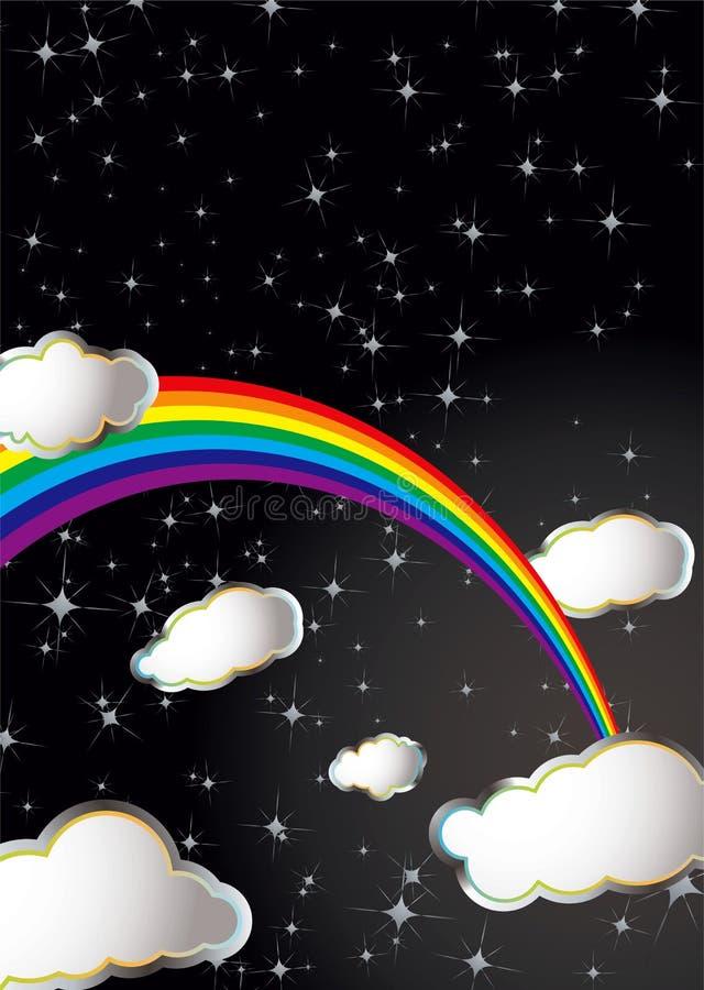 Arco iris del espacio libre illustration