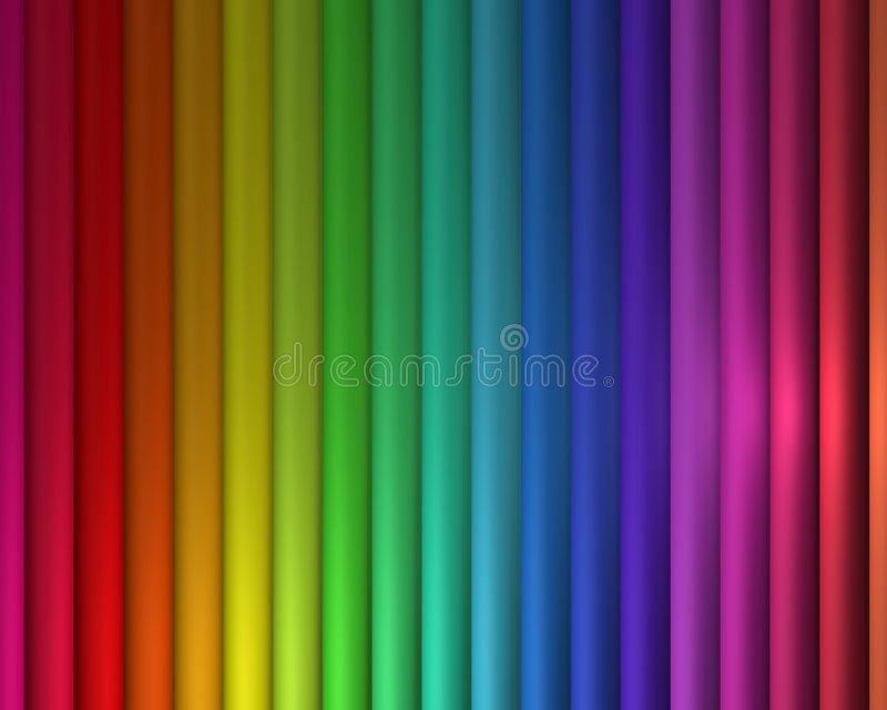 Arco iris vertical libre illustration