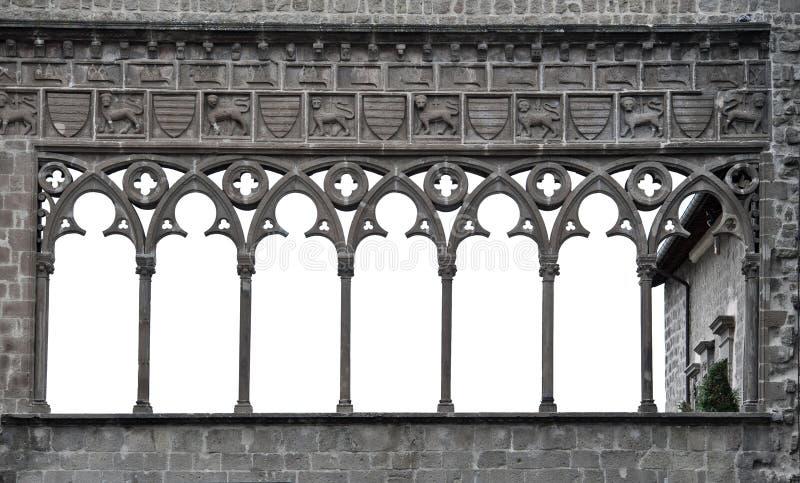 Arco medieval imagenes de archivo