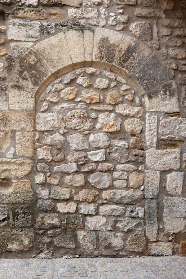 Arco medieval selado fotos de stock