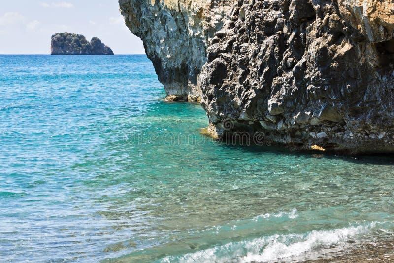 Arco naturale Palinuro, Italia fotografia stock libera da diritti