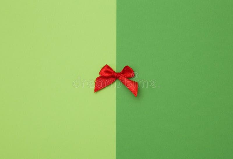 Arco rojo minúsculo foto de archivo libre de regalías