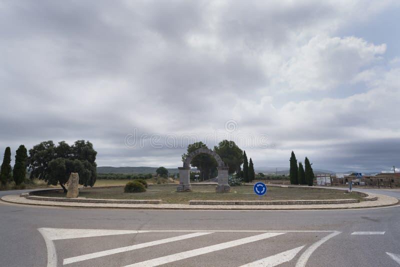 Download Arco romano immagine stock. Immagine di monumento, circolazione - 56878839