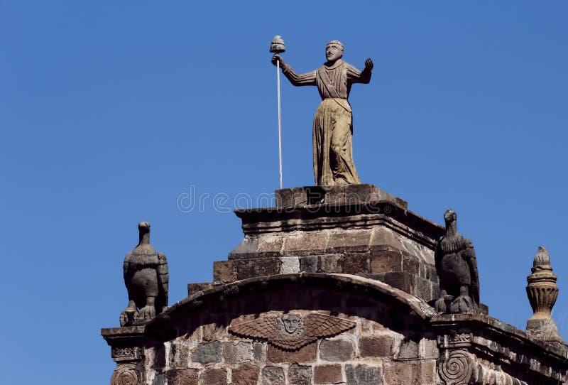Arco Santa Clara en Cusco Peru South America photos stock