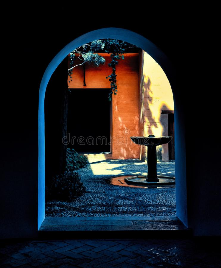 Arco in Spagna fotografie stock