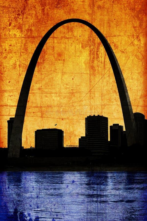 Arco sucio del Gateway imagen de archivo libre de regalías