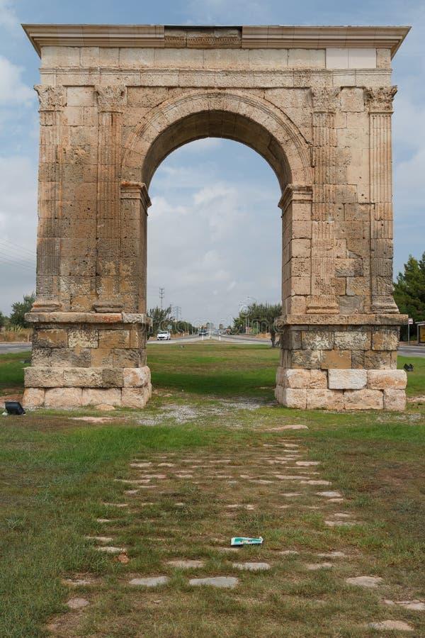 Arco triunfal de Augustus fotografia de stock