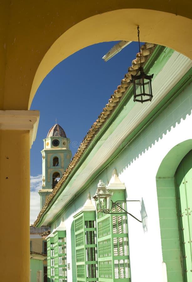 Arco variopinto, Trinidad, Cuba immagine stock libera da diritti